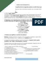 Ejercicios de Semántica Resueltos Por Leticia García Franco