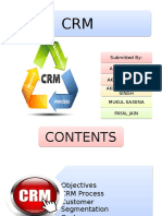 CRM Process in service marketing