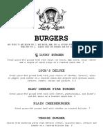 ll food menu