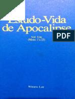 Estudo-Vida de Apocalipse Vol. 1