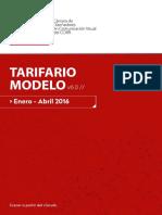 Tarifario 2016 Argentina Diseñadores y Web