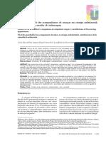 Sampaio Et Al. (2014) Nível de Ansiedade Dos Acompanhantes de Crianças Em Cirurgia Ambulatorial