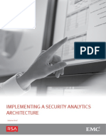 Implementing Security Architecture