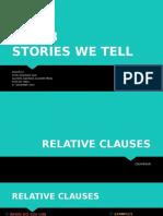 Inglés VI. Stories We Tell