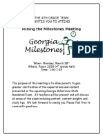 mining the milestones flier-full page
