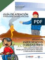 Guia Para Personas Con Discapacidad en Caso de Emergencia y Desastres Ecuador