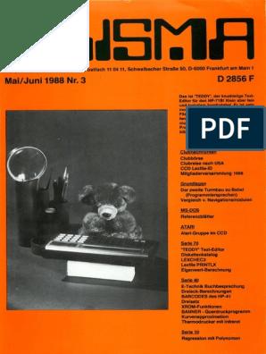 Prisma Ausgabe MaiJuni 1988 Nr.3