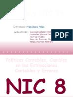 NIC 8 y NIC 24