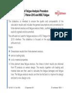 Fatigue Analysis MSC Patran