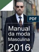 Manual Da Moda Masculina 2016