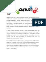Cultura - Etnocentrismo e Relativismo Cultural