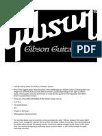 Gibson Guitar Final