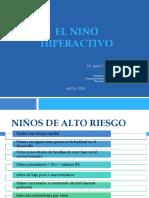 3 El Niño Hiperactivo