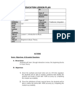 Interactive Power Point Lesson Plan Document by Theresa Preece