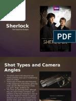 Sherlock Title Sequence Analysis