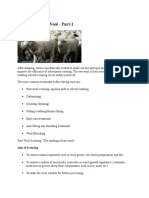 Pretreatment of Wool - Part-1