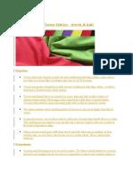Pretreatment of Viscose Fabrics