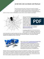Mejorar la visibilidad del sitio web con dise?o web Flash por Alan Smith