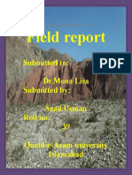 Field report of Nummal And Chichali gorge