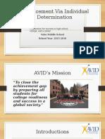 avid board presentation 20015-16
