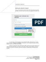 Como Usar El Sitio Web de Pases