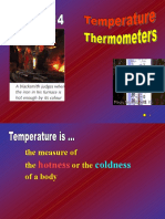 Thermometric Properties