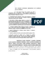 Habeas corpus de juristas em defesa de Lula