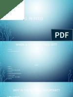 setting in feed