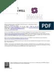 FINAN, Timothy J. - Market Relationships and Market Performance in Northeast Brazil