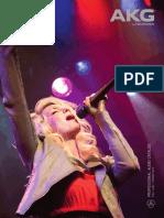 AKG Professional Audio Catalog - Full Line - Spring 2012
