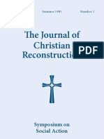 The Journal of Christian Reconstruction - Vol. 8, No. 1 (Summer 1981)