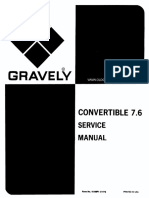 Gravely Convertible 76 Service Manual 1174