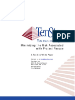 Minimizing Risk of Project Rescue