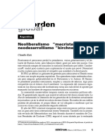 VS144 C Katz Neoliberalismo Macrista Versus Neodesarrollismo Kircherista.