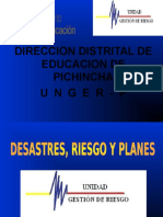 4.-   DESASTRES, RIESGOS, PLANES.ppt