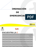Coordinacion de Emergencias