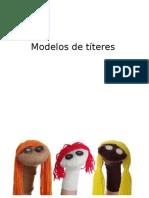Modelos de Títeres