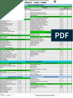 Check List Aeromédico SAMU CBMDF