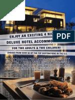 4 night hotel stay