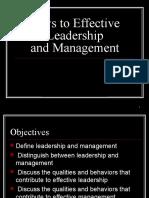 2 Leadership Theories