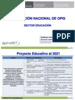 SNIP Educación
