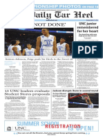 The Daily Tar Heel for March 21, 2016