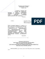 SC Petition for Writ of Kalikasan on Davao-Sasa port modernization project