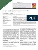 Dry Sliding Wear Characteristics of Glass Epoxy Silicon Carbide