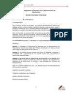 Dcreto Supremo 052-93-Em (Actualizado 2011)