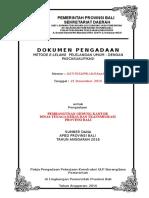 Dok. Pengadaan Pemb. Gedung Kantor Disnaker Prov. Bali