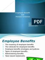 Employee Benefit and Pension Schemes Ppt