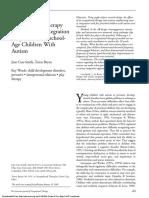 5th sem 660 article on sensory integration
