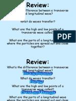 wave properties revised