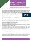 Reglamento Auditorio Mexico